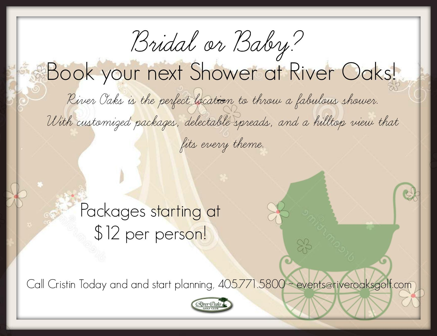 Bride or Baby Shower